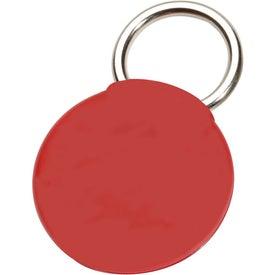 Printed Round Twist-Ease Keyholder