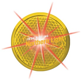 Round Yellow Imprinted with Your Logo
