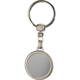Round Budget Domed Key Tag