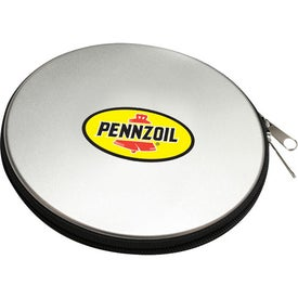 Round CD Case Imprinted with Your Logo
