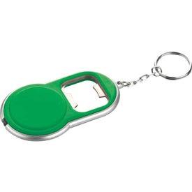 Advertising Round Led Key-Light / Bottle Opener