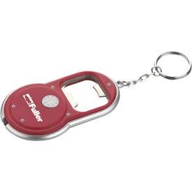 Customized Round Led Key-Light / Bottle Opener