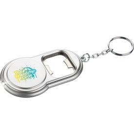 Logo Round Led Key-Light / Bottle Opener