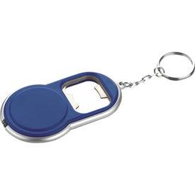 Round Led Key-Light / Bottle Opener for Marketing