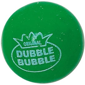 Personalized Round Tin of Candy - Dbl Bubble