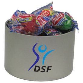 Round Tin of Candy - Dbl Bubble