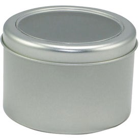 Round Tin of Candy - Empty