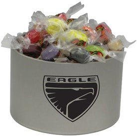 Round Tin of Candy - Jelly Belly