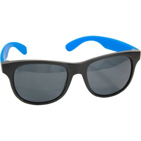 Rubberized Sunglasses with Your Slogan