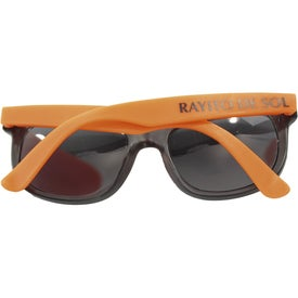 Customized Rubberized Sunglasses
