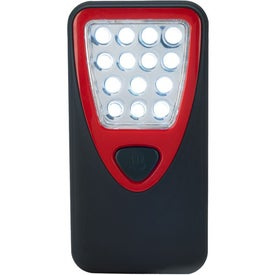 Rubberized Working Light With Heavy Duty Magnet with Your Logo