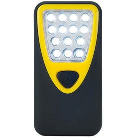 Rubberized Working Light With Heavy Duty Magnet Branded with Your Logo