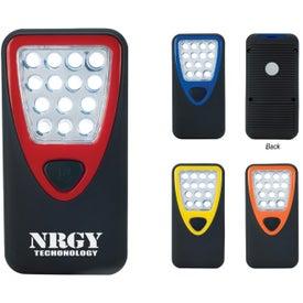 Custom Rubberized Working Light With Heavy Duty Magnet