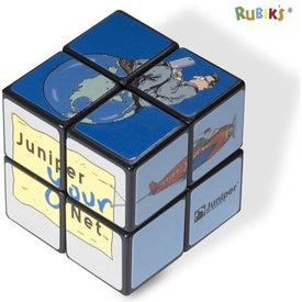 Imprinted Rubik's 4-Panel Mini Custom Cube