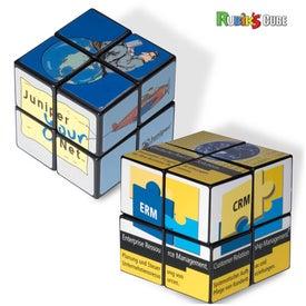 Personalized Rubik's 4-Panel Mini Custom Cube