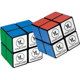 Logo Rubik's 4-Panel Mini Stock Cube