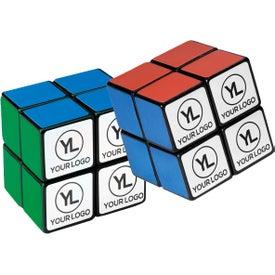 Logo Rubik's 4-Panel Mini Stock Cube