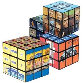 Monogrammed Rubik's 9-Panel Full Custom Cube