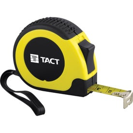 Rugged Locking Tape Measure Branded with Your Logo