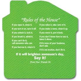 Monogrammed Rules of The House Jar Opener