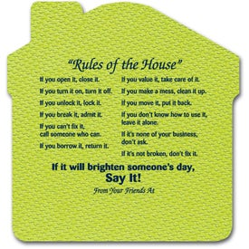 Rules of The House Jar Opener Giveaways
