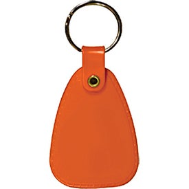 Imprinted Saddle Key Tag