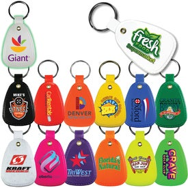 Antimicrobial Saddle Key Tag