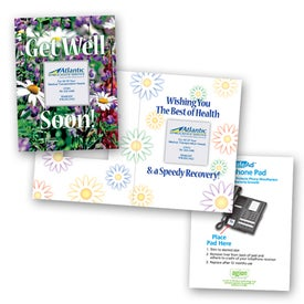 Safe/Ad Get Well Soon Greeting Card