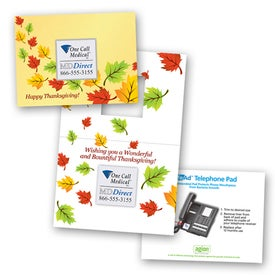 Safe/Ad Happy Thanksgiving Greeting Card
