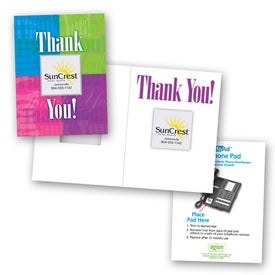 Safe/Ad Thank You Greeting Card