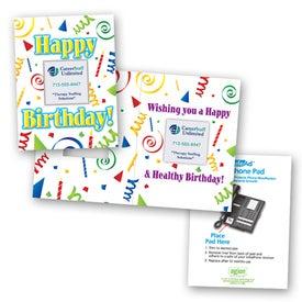 Safe/Ad Happy Birthday Greeting Card
