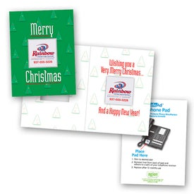 Safe/Ad Merry Christmas Greeting Card