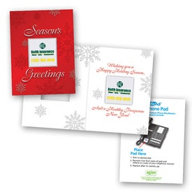 Safe/Ad Season's Greetings Greeting Card