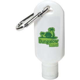 Safeguard Sunscreen with Carabiner (1.8 Oz.)