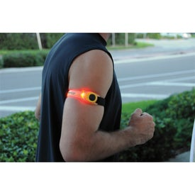 Safety Light Arm Band Imprinted with Your Logo