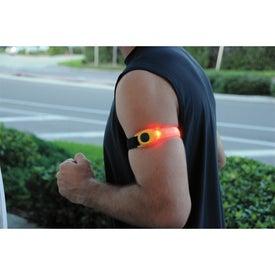 Logo Safety Light Arm Band