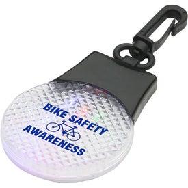 Imprinted Tri-Safety Light Clip