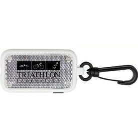 Safety Strobe Flashing LED Light Printed with Your Logo
