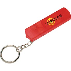 Printed Safety Whistle Keylite