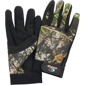 Safety Works Mossy Oak Multi Purpose Camo Gloves Branded with Your Logo