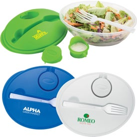 Salad Bowl and Fork Set