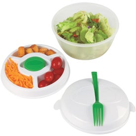 Salad Bowl Set Printed with Your Logo