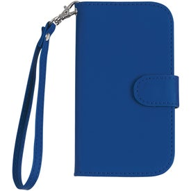 Customized Samsung S3 Case with Magnetic Close Tab and Strap