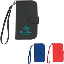 Samsung S3 Case with Magnetic Close Tab and Strap