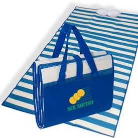 Advertising San Tropez Beach Mat
