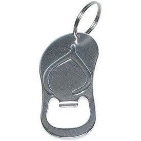 Advertising Sandal Bottle Opener Key Ring