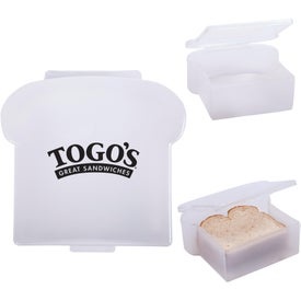 Monogrammed Sandwich Container