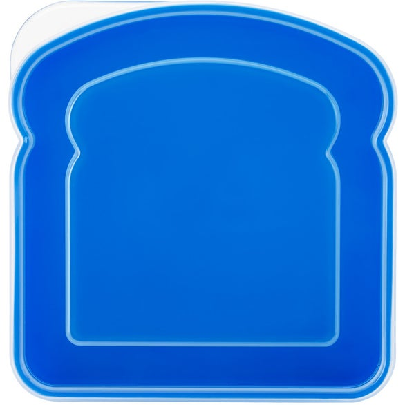 Blue / Clear Sandwich Container