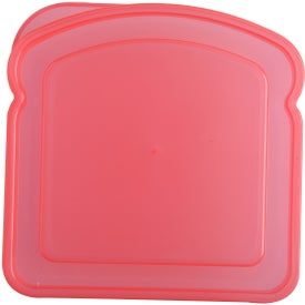 Sandwich Keeper Container with Your Slogan