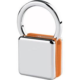 Logo Sandwiched Color Block Key Tag